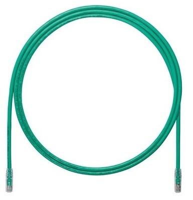 UTP6A5GR Patch cord CAT6A 5FT UTP TX6A 10G Green Panduit