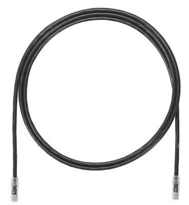 UTP6A7BL Patch cord CAT6A 7FT UTP TX6A 10G black Panduit