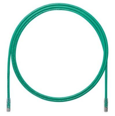 UTP6A7GR Patch cord CAT6A 7FT UTP TX6A 10G Green Panduit