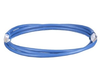 UTP6A7BU Patch cord CAT6A 7FT UTP TX6A 10G blue Panduit