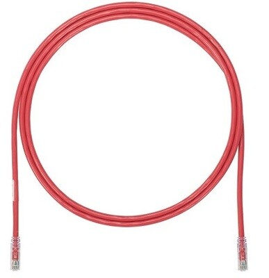 UTP6X7RDY Patch cord CAT6 7FT UTP TX6 10G red (UTP6A7RD) Panduit