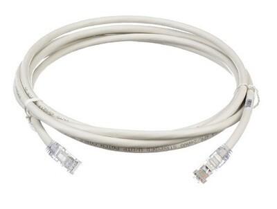 UTP6X10Y Patch cord CAT6 10FT UTP TX6 10G white Panduit