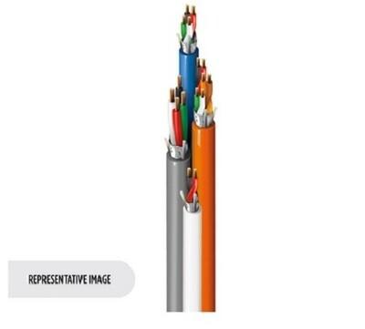 558AFS 0001000 Cable Access Control, 16c (#22-3pr, #18-4c, #22-6c), Shielded, Banana Peel, CMR Belden