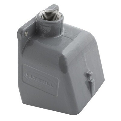 BB1001W   Box Pin&sleeve angled aluminum 1 1/2