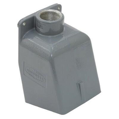BB601W   Box Pin&sleeve angled aluminum 1-1/4
