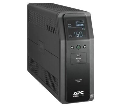 BR1500M2-LM  UPS 1.5KVA Pro (in 120V nema-5-15P) (out 6 nema 5-15R (Battery BK) 4 nema 5-15R TVSS) 2 USB LCD interface Cord 1.8Mtrs Apc