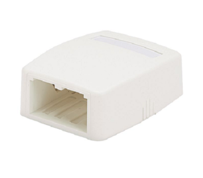 CBXQ2EI-A  Surface mount box 2 PTO (Replacement CBXQ2EI-A) Electric-Ivory Panduit
