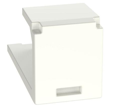 CMBIW-X  Module blank Mini-Com office-white PK10 Panduit