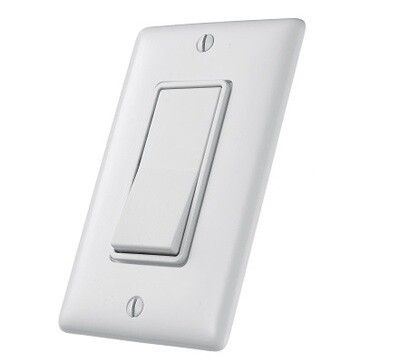 RSD115W   Switch single position single pole 15A 120/277V white decorator Hubbell