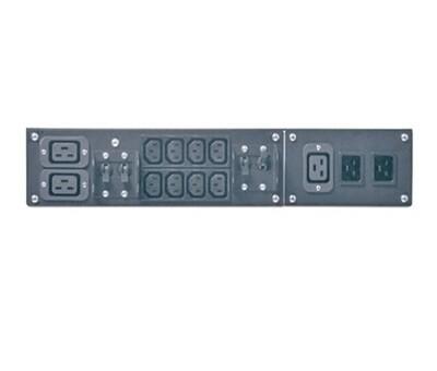SBP5000RMI2U  Service Bypass Panel 230V 32A BBM IEC320 C20/HW input; IEC-320 Output- (2) C19 (8) C13 Apc