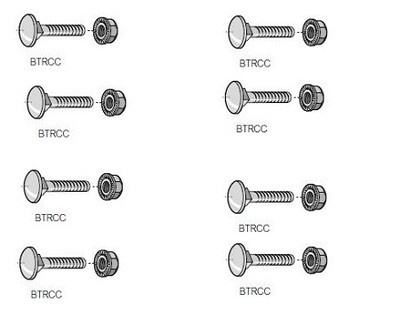 BTRCC620   Fixing and fastener cablofil CM801011 Electro galvanized PK100 Legrand