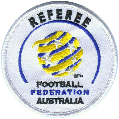 Embroidered Referee Badge