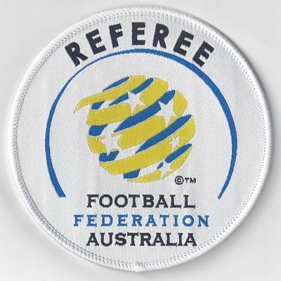 Woven Referee Badge