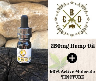 250mg Hemp Oil Tincture - Trial