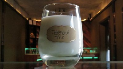 Soy Wax Candle - Patchouli Trio