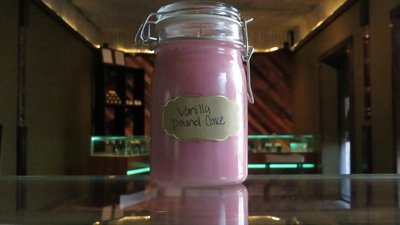 Soy Wax Candle - Vanilla Pound Cake