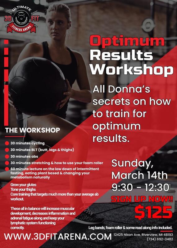 Optimum Results Workshop