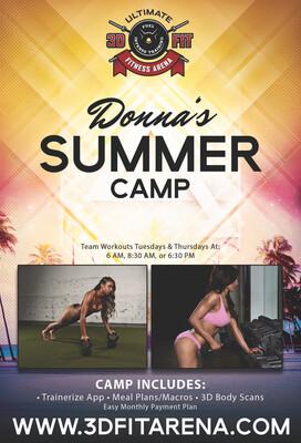 Donnas Summer camp