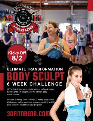 Body Sculpt 6 Week Challenge