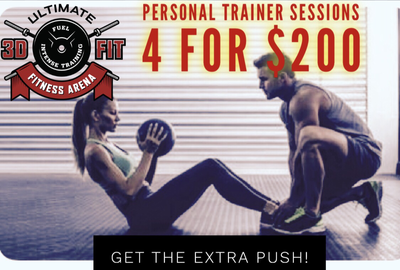 4 Personal Trainer Sessions