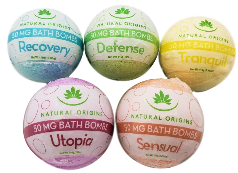 CBD Scented Bath Bombs