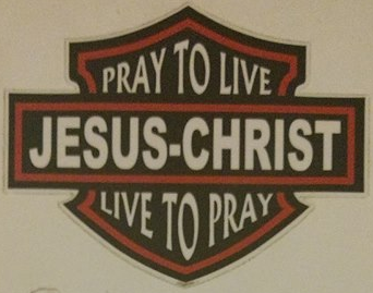 Pray to Live Decal