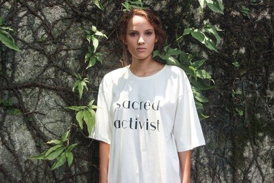 Camiseta Orgânica SACRED ACTIVIST