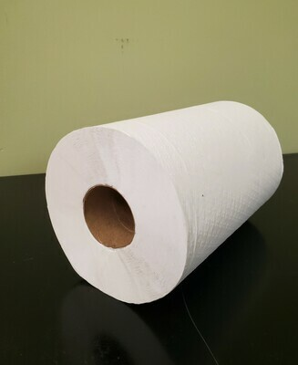 Cascade Rolled White Paper Towel
