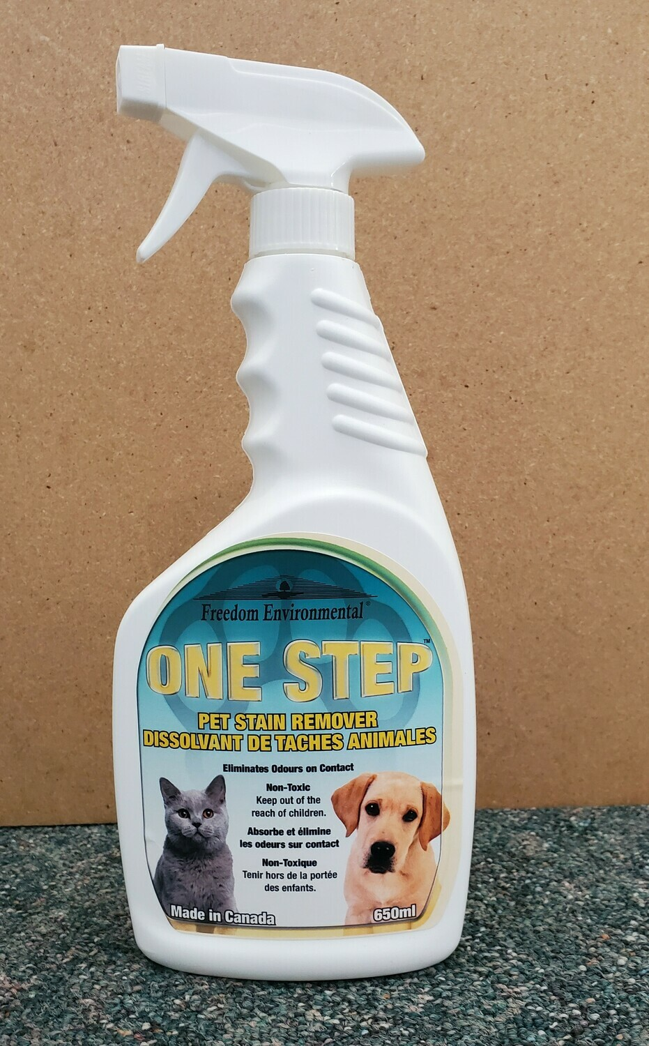 One Step Pet Stain Remover