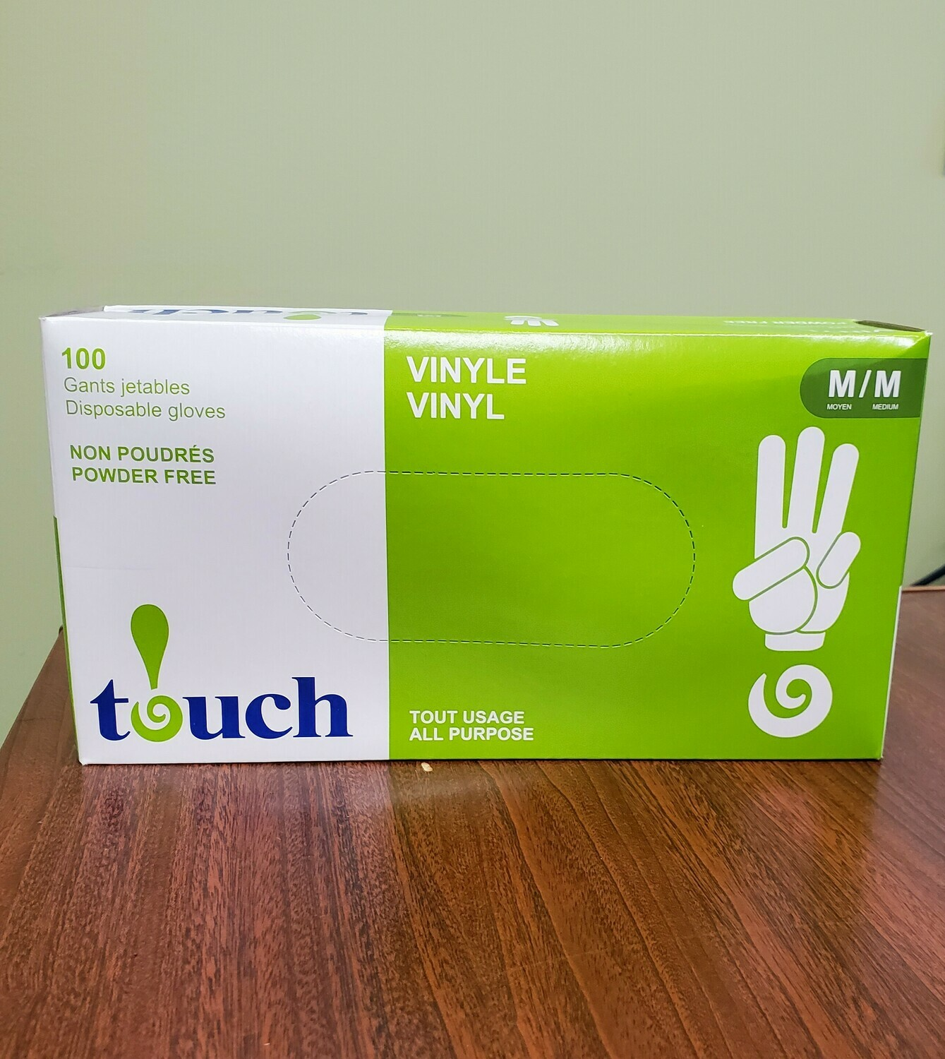 Touch vinyl Disposable Gloves
