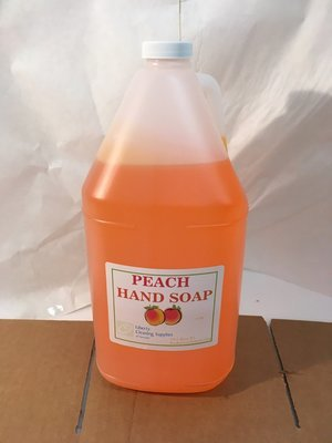 Hand Soap DV Peach 3.78L