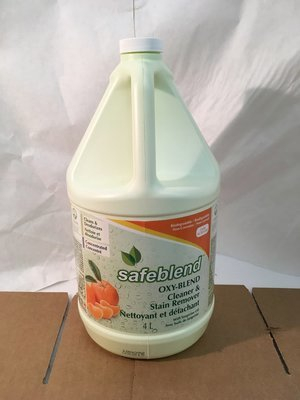 Safeblend Cleaner & Stain Remover Oxy-Blend 4L