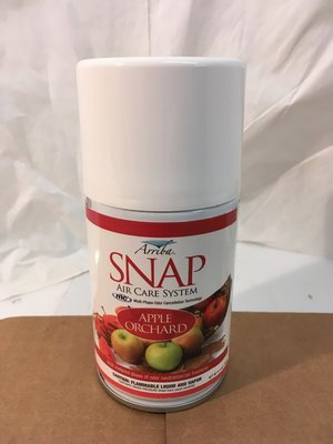 Deodorizer Arriba Snap Aersol Apple Orchard (Moderate)