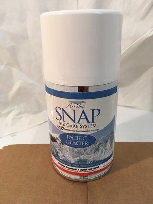 Deodorizer Arriba Snap Aersol Pacific Glacier (Heavy)