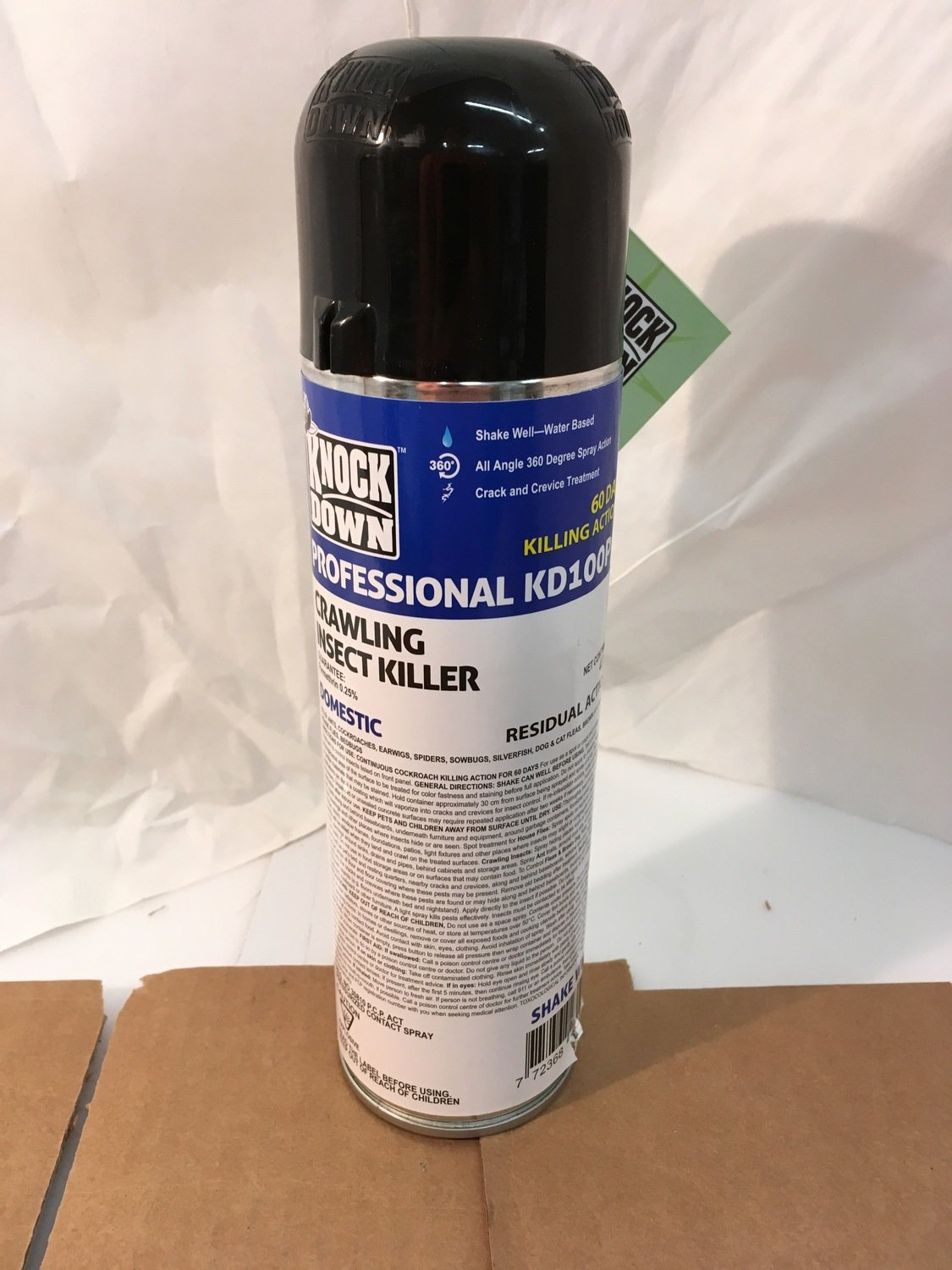 Bug - Crawling Insect Killer KNOCK DOWN crack/crevice 60/days