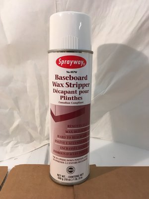 Stripper Baseboard Sprayway