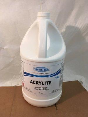 Floor Wax Acrylite Sanilabs 4L