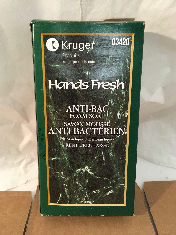 Hand Soap Foam Anti-Bac Da Vinci 800ml Bag/box 03420