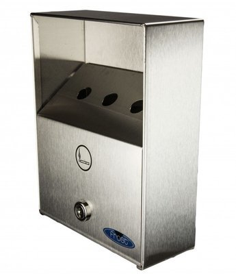 Outdoor wall mount ashtray Frost 908