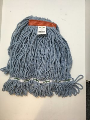 Wet Mop Head - Medium Looped Blue