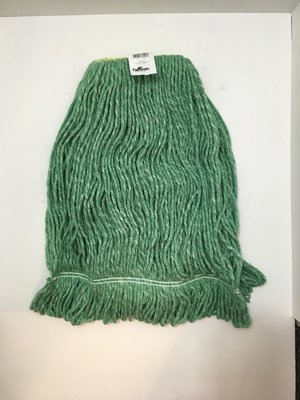 Wet Mop Head 32oz X-Large Looped Cancot Green