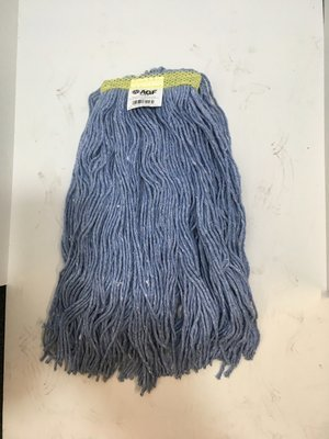 WetMop Head Blue Synthetic Cut End 24oz Large