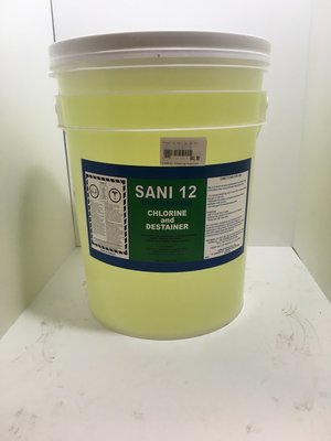 Bleach 12% Sanitizer 20L Pail