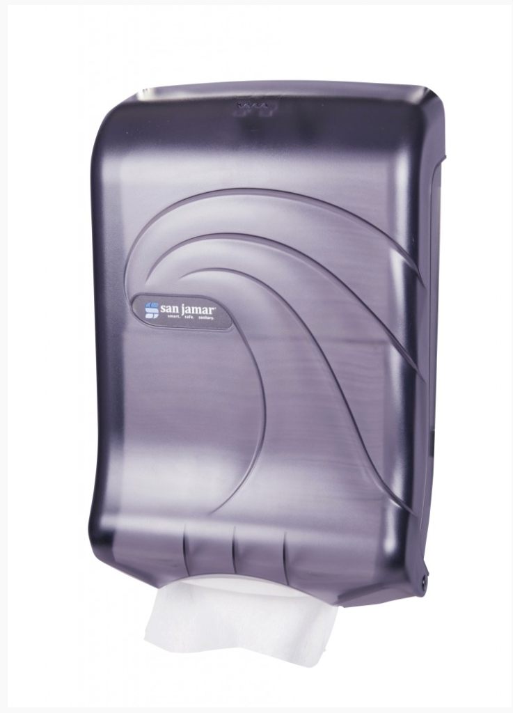 Paper Towel Black Dispenser Multifold