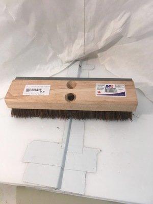 Brush Bassine Fiber Deck Scrub Brush