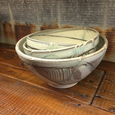 Large Nesting Bowl - Butterbone