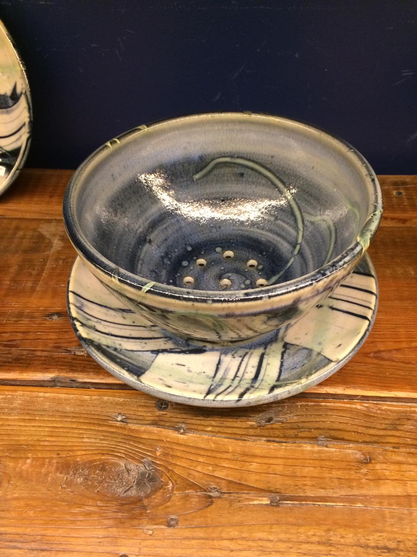 Bowl - Berry & Plate - Bluegrass