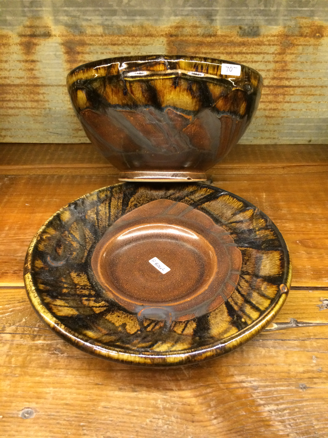 Bowl - Berry & Plate - Copper River
