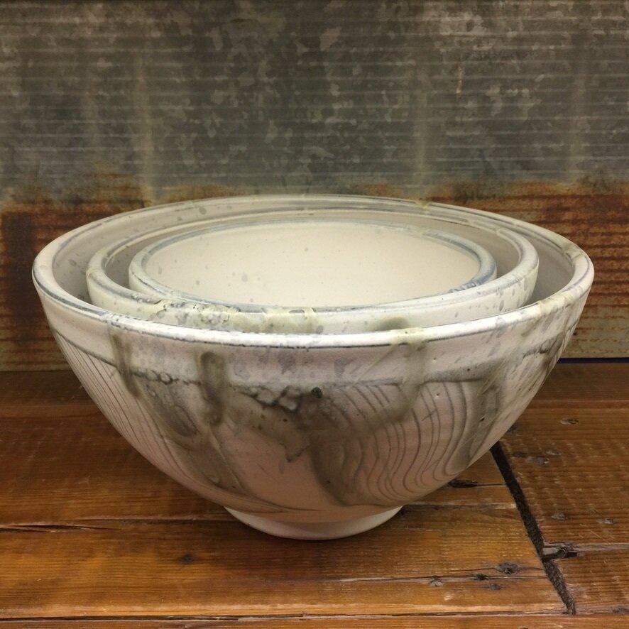 Medium Nesting Bowl Stormstone