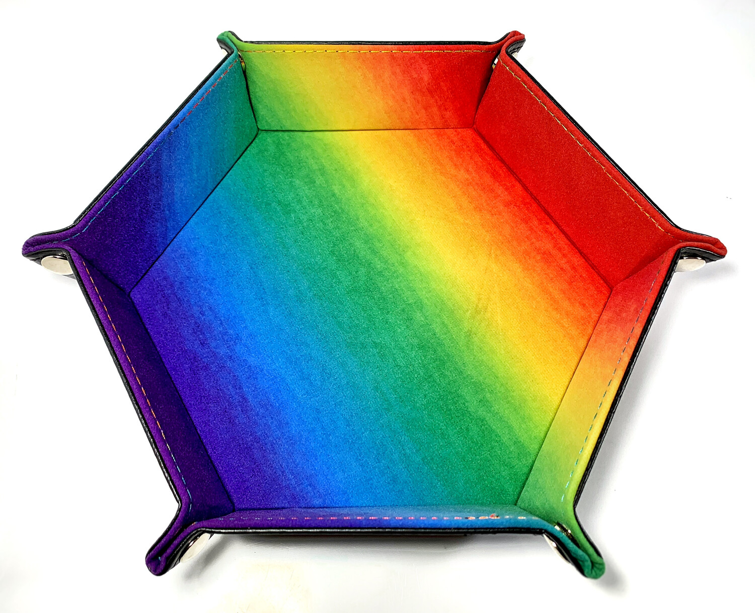 Rainbow Pride Dice Tray